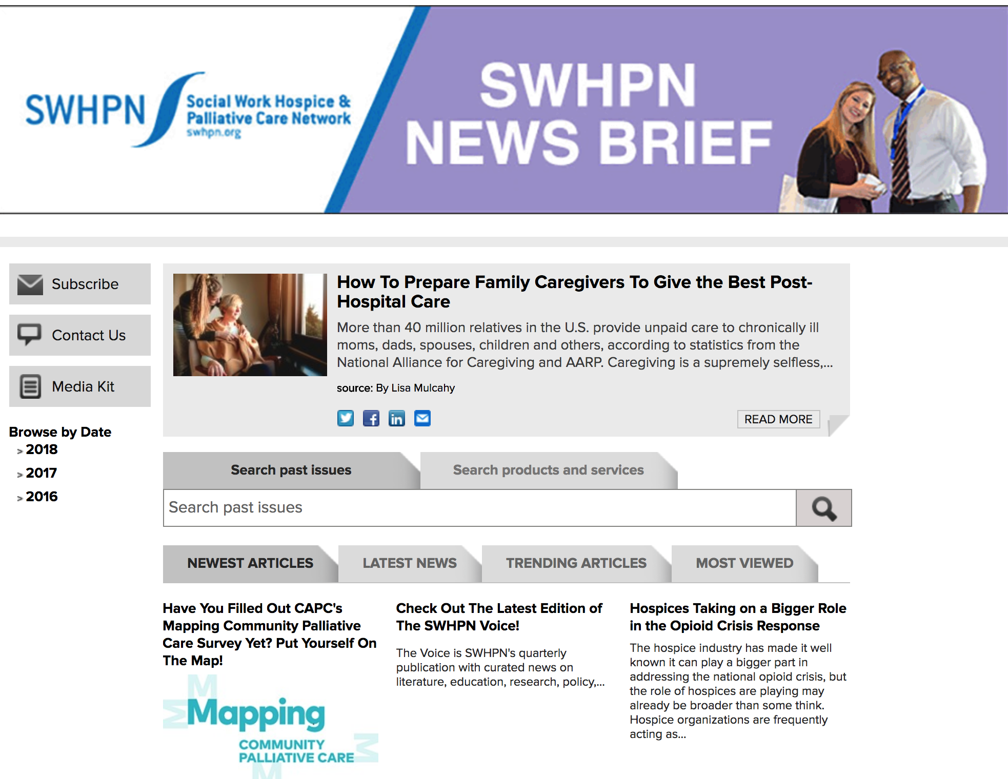 SWHPN News Brief